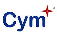 CYM STAR Cym logo white background AVT