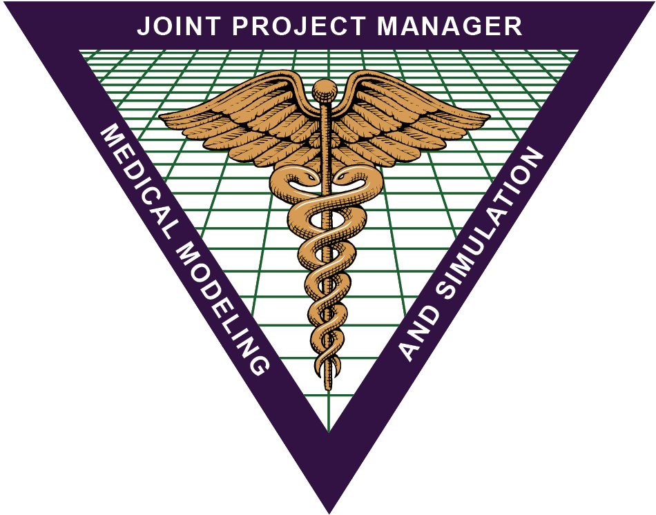 Joint Porject Manager, Medical Modeling, and Simulation purple triangle no background