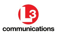 L3 Technologies L3 red logo with communications text white background AVT Simulation