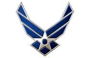 United States Air Force white back ground Logo AVT