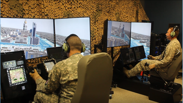 Two Pilots Flying in CAMTT Trainers_AVT Simulation