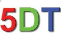 Fifth Dimensions Technologies 5DT Logo AVT Simulation white background
