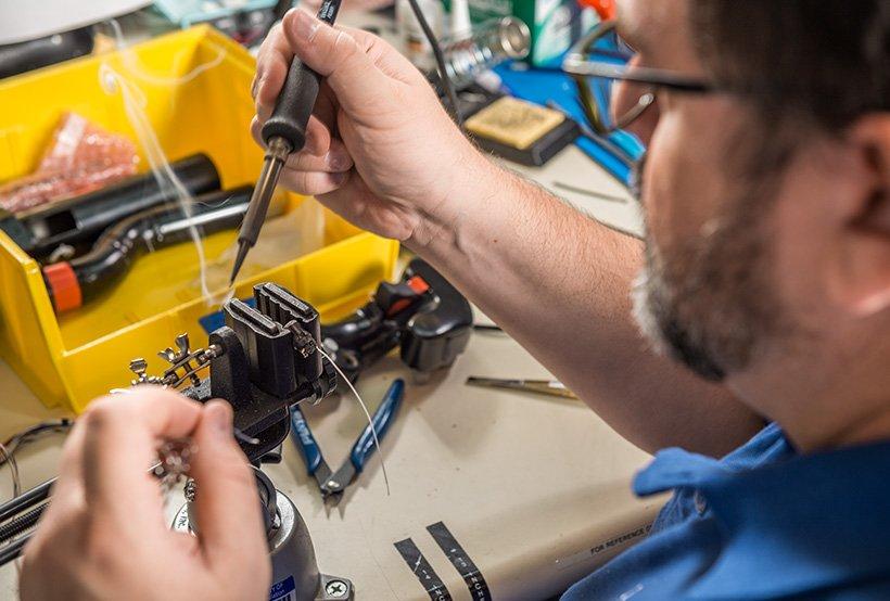 Randall Musgrave soldering hardware AVT