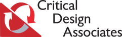 Critical Design Associates Logo AVT Simulation no background