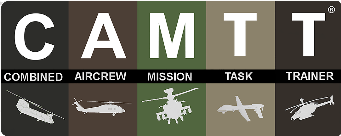 Combined Aircrew Mission Task Trainer (CAMTT) logo