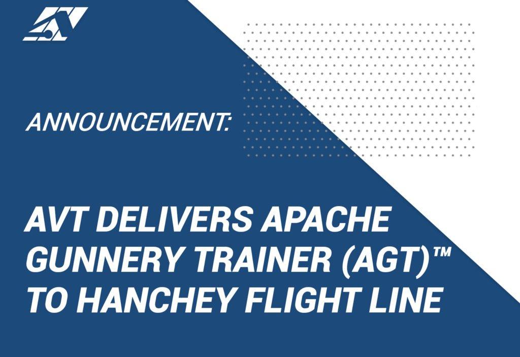 Apache Gunnery Trainer (AGT) AVT Simulation
