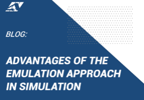 Advantages of Emulation in Simulation approach